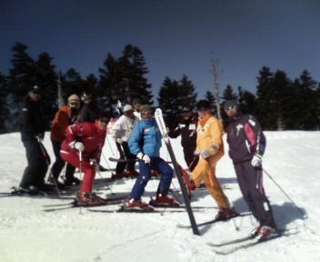 熊谷市民スキー講習会 2009年